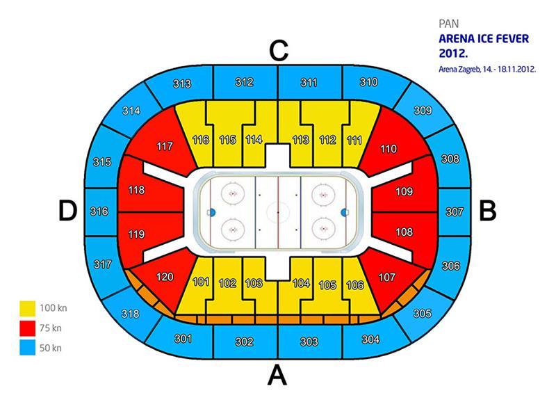 Arena Zagreb Zagreb Arena Arena Ice Fever 2012