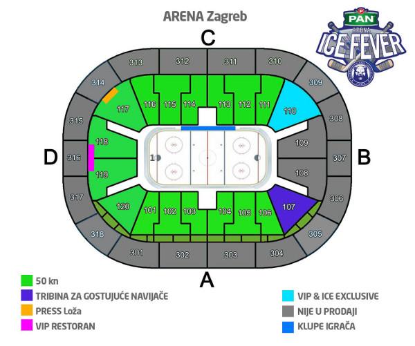 Arena Zagreb Zagreb Arena Arena Ice Fever 2015