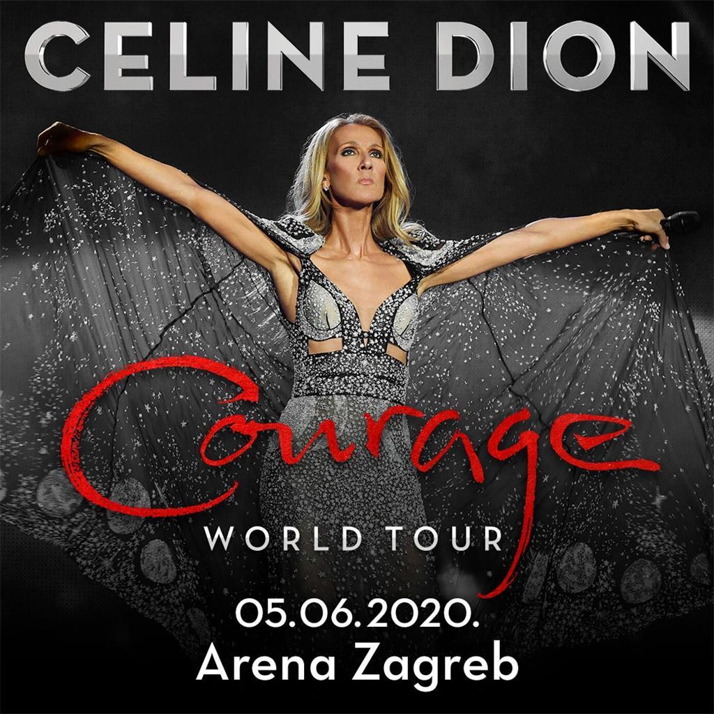 Arena Zagreb Zagreb Arena Celine Dion