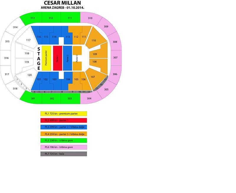 Arena Zagreb Zagreb Arena Cesar Millan