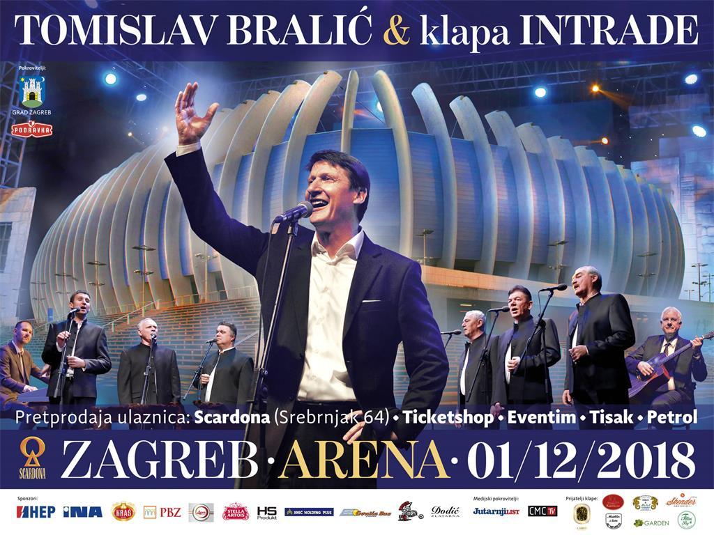 Arena Zagreb Zagreb Arena Klapa Intrade